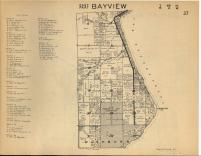 Bayview T49N-R4W, Bayfield County 1954